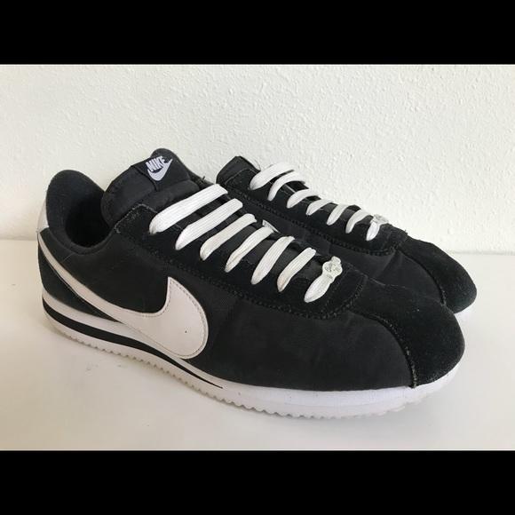 wholesale dealer 8ae69 dff2a Rare🔥 Nike Cortez basic nylon free running white